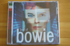Rare Bowie Best of Italy Flag Made in Holland 19 Tracks Cd MINT Thick Booklet Ed