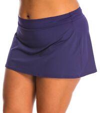 a99eeee27855d Anne Cole 16MB400 Navy Rock Skirted Swimwear Bikini Bottom M Medium