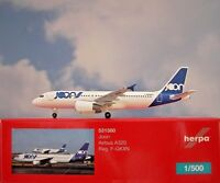 Herpa Wings 1:500  Airbus A320 Joon F-GKXN  531580  Modellairport500