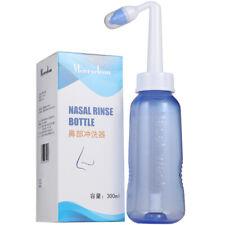 Adult Nasal Wash Neti Pot Rinse Cleaner Sinus Allergies Relief Nose Pressure vv