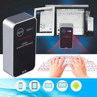 Bluetooth Laser Projection Virtual Keyboard for Smartphone PC Tablet Laptop PQ