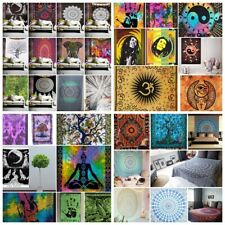 Cotton Tapestry Wall Hanging Hippie Gypsy Bedspread Throw Mandala Bohemian Cover