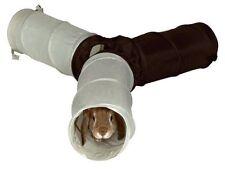 Nylon 3 Way Rabbit Guinea Pig Ferret Play Tunnel Hide Run Tube Toy Trixie 62791