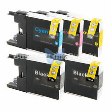 5 PACK LC71 LC75 Ink Cartridge for Brother MFC-J280W MFC-J425W MFC-J435W LC75
