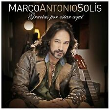 Gracias por Estar Aqui by Marco Antonio Solis (CD, Oct-2013, Universal)
