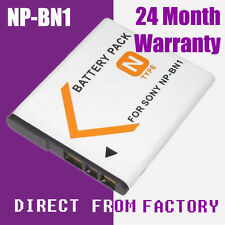 Decoded Battery NP-BN1 NPBN1 Sony Cyber-Shot DSC-W830 DSC-WX50 DSC-WX70 DSC-WX80