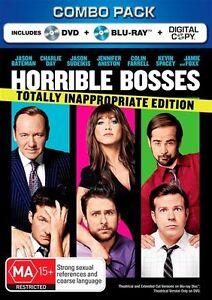 Horrible Bosses Blu Ray Combo Pack - VGC, FREE POST