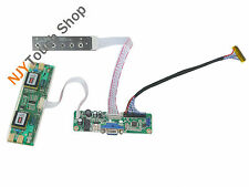 VGA LCD Controller Board Work for LM201WE3 -TLF1 1680x1050 LCD Panel