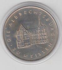 DDR  Albrechtsburg zu Meissen  1967  Medaille