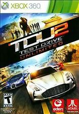 TDU Test Drive Unlimited 2 (Microsoft Xbox 360, 2011) Game (Complete)