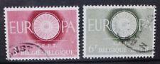 BELGIUM 1960 European Postal Conference. Set of 2. Fine USED. SG1746/1747.
