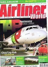 Airliner World 2011 August Air Portugal,Hong Kong,Air Astana,Malta,Genair