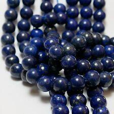 NELLYS Strang Lapis Lapislazuli  Perlen   Edelsteine leuchtendes blau 3-14mm