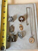 Vintage Religious Jewelry Lot 7 Pieces