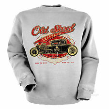 * SweatShirt Hot Rod Autowerkstatt Garage Kustom Old School *1277
