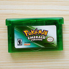 Pokemon Game Boy Advance Card EMERALD Gift for Nintendo NDS/NDSL/GBC/GBM/GBA/SP