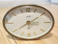 Vintage Bradley Wind-up Travel Alarm Clock Made in West Germany Tested & Working