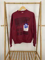 VTG 1994 XVII Olympic Lillehammer Norway Burgundy Crewneck Sweatshirt Size XL