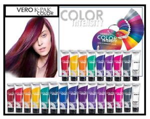 JOICO Vero K-PAK Color Intensities semi permanent strand hair dye colors- 118ml