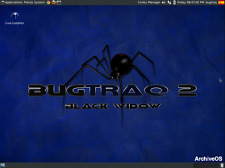 Bugtraq 2 Black Widow Live USB Penetration Test Hacking forensic audit wifi GSM