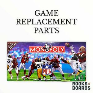 Monopoly NFL Official Ltd Collector's Edition | 1998 | Game Replacement Parts