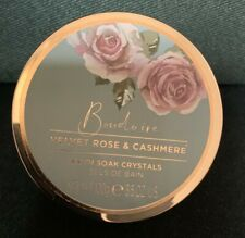 Baylis & Harding, Boudoire Collection Velvet Rose & Cashmere Bath Soak Crystals
