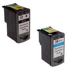 Prestige Cartridge PG-37/CL-38 Ink Cartridges for Canon Pixma iP1800, iP1900, iP