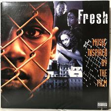 FRESH SOUNDTRACK (VINYL LP)  1994!!  RARE!!  GZA + RAEKWON + GHOSTFACE + WU-TANG