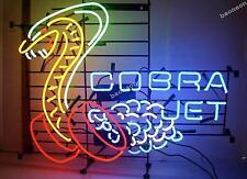 """24""""X22"""" HUGE Cobra Jet Snake Car Dealer BEER BAR LIGHT NEON SIGN FREE SHIPPING"""
