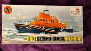 Airfix 1:12 RNLI Severn Class Lifeboat Model Kit #07280 *SEALED BAG*