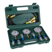 Hydraulic Pressure Test Kit with Testing Hose Coupling and Gauge 1 set/box
