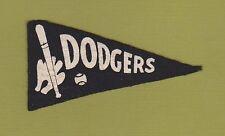 1936 BF3 series Brooklyn Dodgers Baseball miniature Pennant - felt