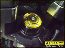 Area 22 Kawasaki Z125 Z 125 2016 - 2017 Aluminum Steering Stem Cap Cover Gold