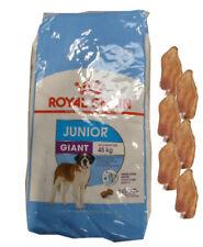 15kg Royal Canin  Giant Junior + 6 x Kaninchenohren