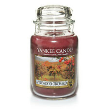 ☆☆APPLEWOOD ORCHARD☆☆ LARGE YANKEE CANDLE JAR☆RARE FALL SCENTED CANDLE- GREAT!