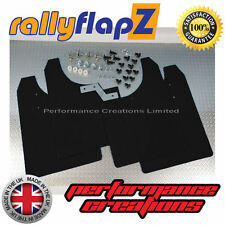rallyflapZ to fit VAUXHALL ASTRA VXR (05-11) Mudflaps Mud Flaps Black 4mm PVC