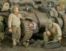 Verlinden 1/35 US Tank Mechanics with Tools WWII (2 Figures) [Resin] 2511
