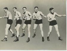 Tomy Loughran Vintage silver print,Tommy Loughran est un boxeur américain né l