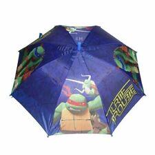 Teenage Mutant Ninja Turtle Childrens Kid Umbrella Rainproof +Whistle