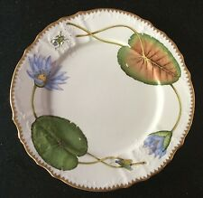 ANNA WEATHERLEY porcelain dinner plate SEASCAPE WATERLILY - list $374 - MINT