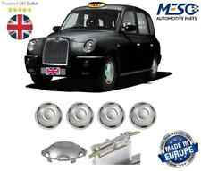 4 OF SILVER WHEEL TRIM COVER HUB CAP FITS LONDON BLACK TAXI LTI LTC TX1 TX2 TX4