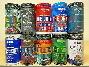Axe Sledge THE GRIND BCAA + EAA plus Hydration   10 Flavors   30 Servings