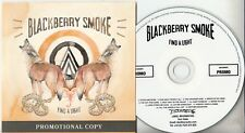BLACKBERRY SMOKE Find A Light 2018 UK 13-track promo CD + press release