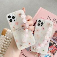For iPhone 12 Pro Max 7 8 11 XS Max XR Phone Case Flower Chain Soft Case Cover