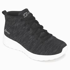 Women's S SPORT BY SKECHERS Zofia High Top Lace up Athletic Shoes, BLACK Size 12