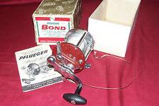 Vintage Pflueger Bond Model No 2004 Baitcasting Fishing Reel Salt Water Trolling