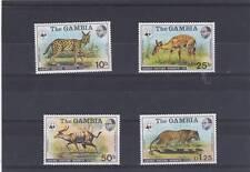 GAMBIA 1976 ABUKO NATURE RESERVE SET {1st series} SG.356-359 MNH