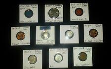 Junk drawer coin lot+PROOF+SILVER+BUFFALO+INDIAN+WORLD WAR 2 STEEL+WHEAT+OPA+$1