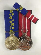 Order of Australia Medal, Australian Defence Medal + Ribbon Bar
