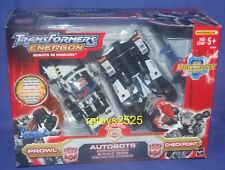Transformers Energon SWAT TEAM PROWL & CHECKPOINT Powerlinx Factory Sealed New